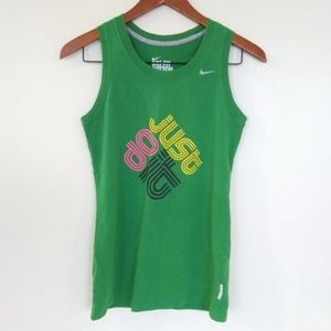 Nike Dri Fit Cotton Tee Muscle Tank Racerback S